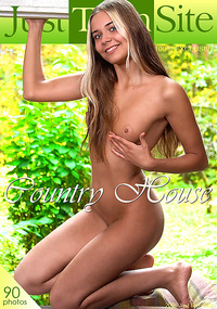 Country House - This naked girl likes the country house because it's private and she can get away with anything.