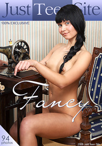 Fancy - This classy teen is poised and polite but that doesn't stop her from revealing every inch of her pretty pussy.