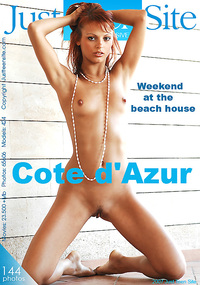Cote-dAzur - This naked girl could be a supermodel on any runway in the world, but for now she's posing naked just for you.