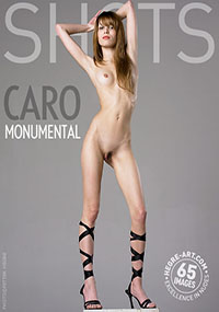 Caro Monumental - Cute and petite, Caro loves getting naked for you!