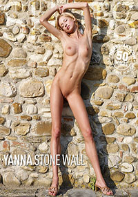 Yanna Stone Wall - Flexible Yanna is waiting for you – naked!