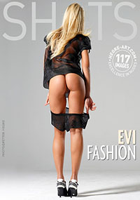 Evi Fashion - Blonde Evi loves getting naked for the camera