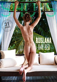 Ruslana Day Bed - Ruslana is naked and waiting for you