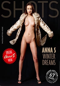 Anna S Winter Dreams - Anna is naked under her fur coat